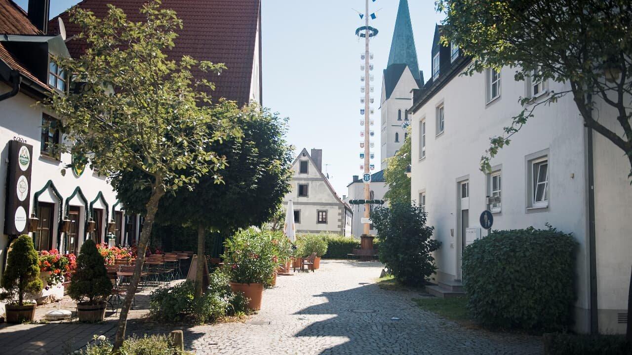 Idyllischer Ortskern Reichertshofen