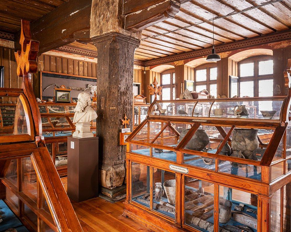 Ausstellungsraum im Rosgartenmuseum