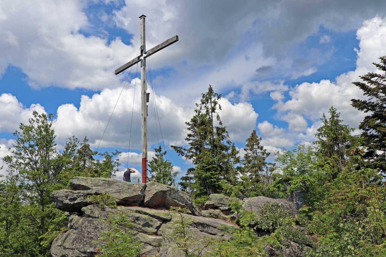 Kanzel Gipfelkreuz