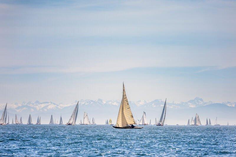 Segelschiffe auf dem Bodensee