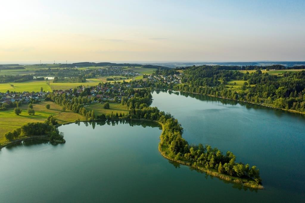 Luftbild von Illmensee