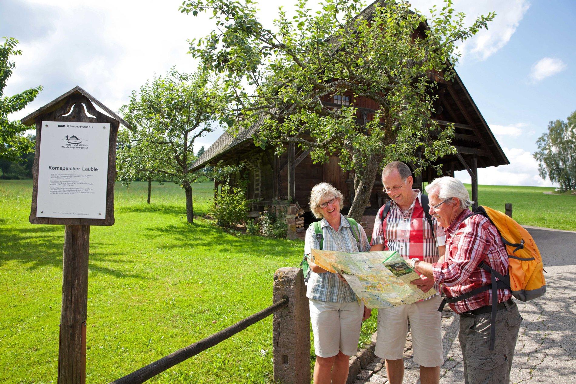 Der Jungbauernhof am Höfe- und Mühlenwanderweg