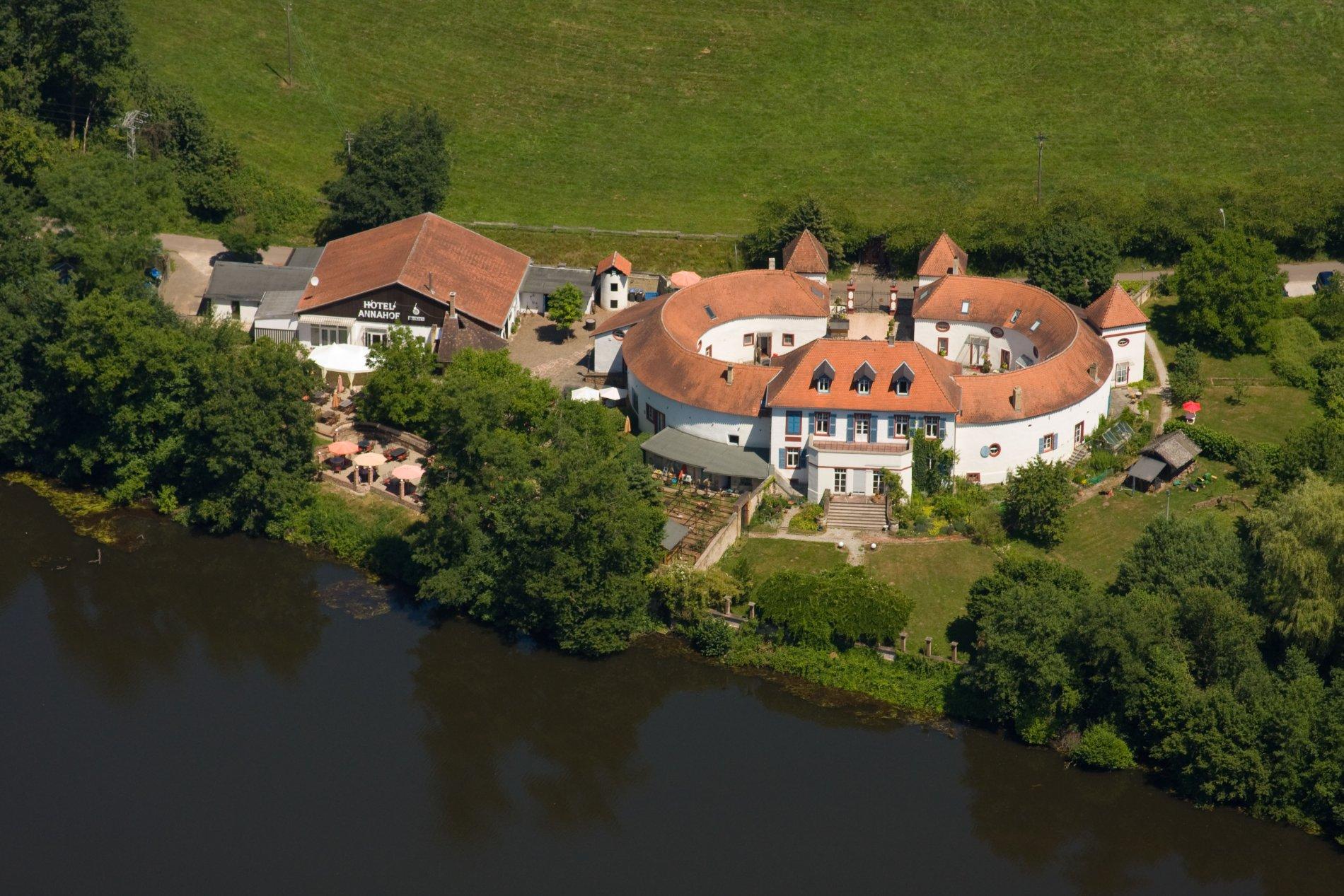 Luftbild Annahof