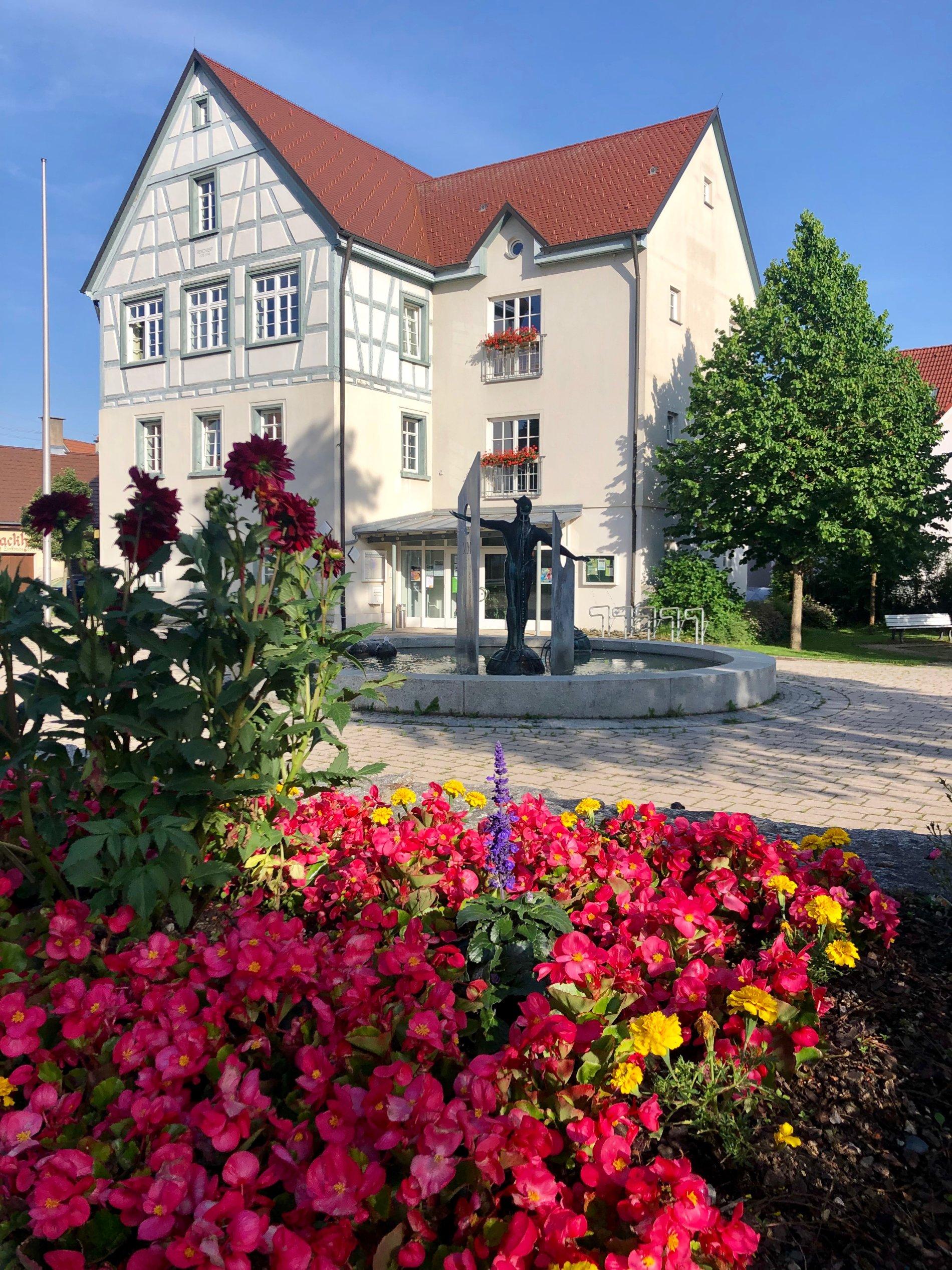 Rathaus im Sigmaringer Ortsteil Laiz