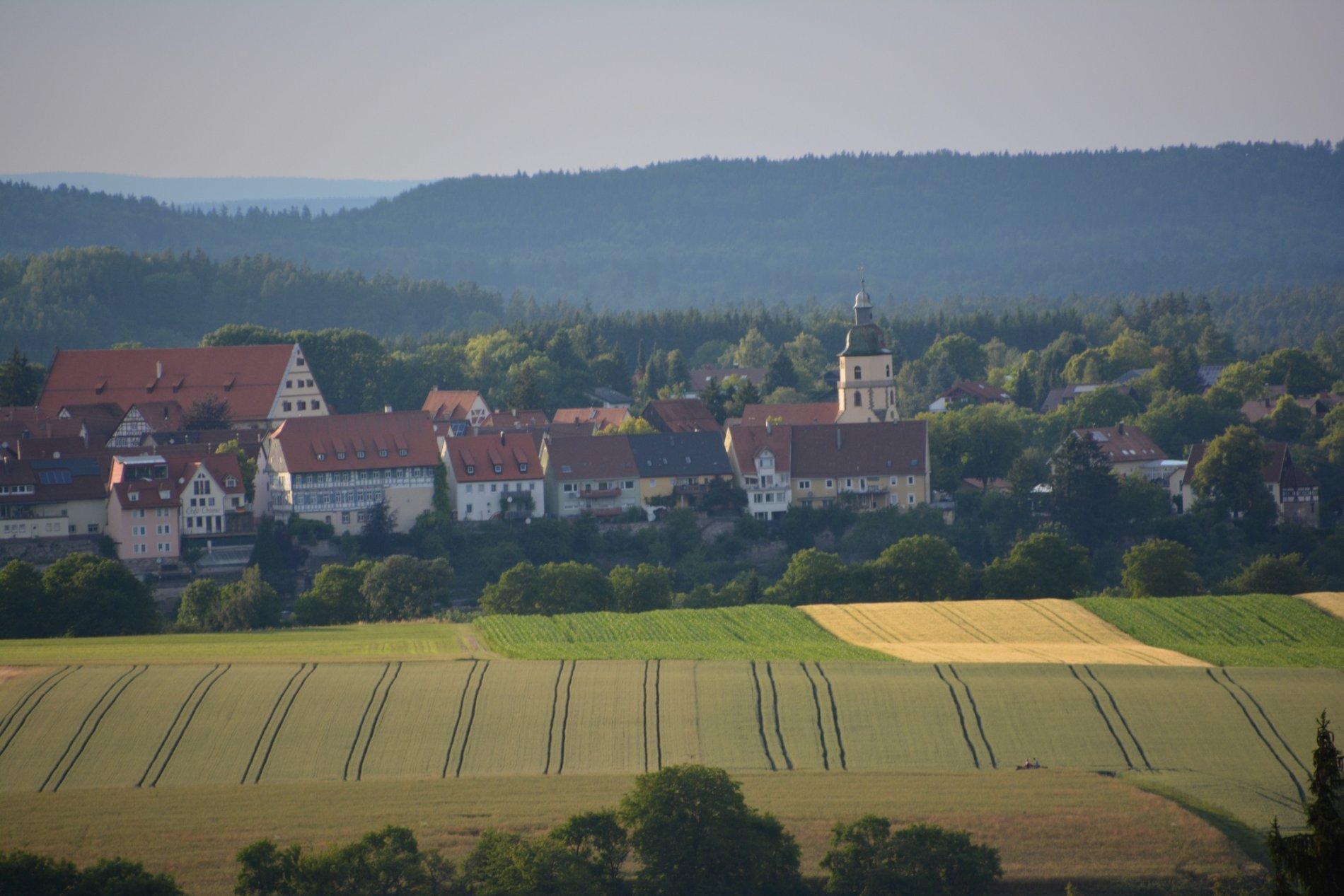Blick auf die Altstadt Rosenfeld