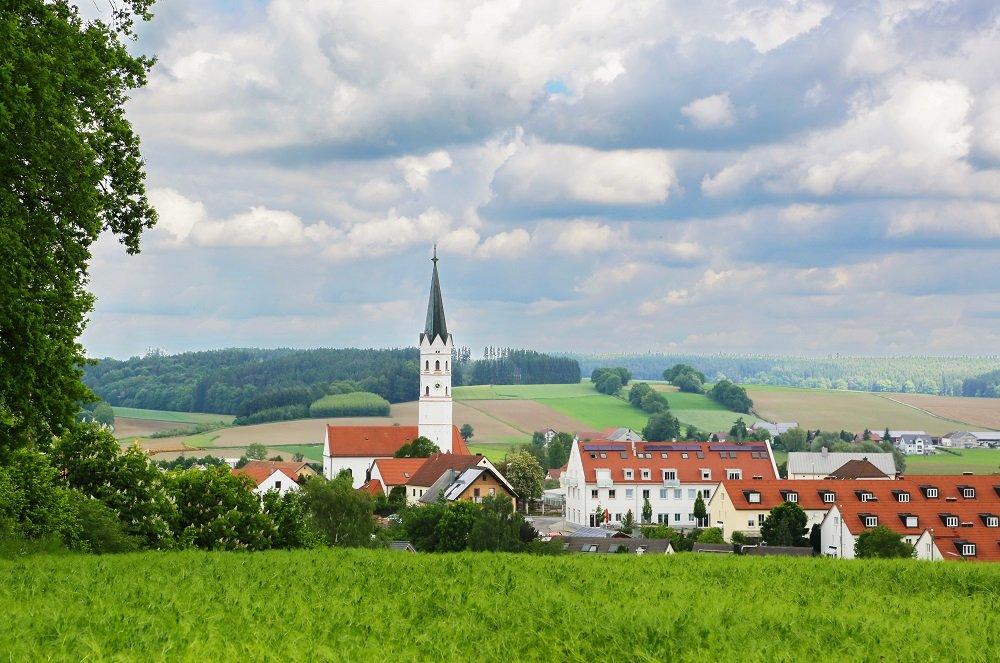 Panorama der Gemeinde Hohenkammer