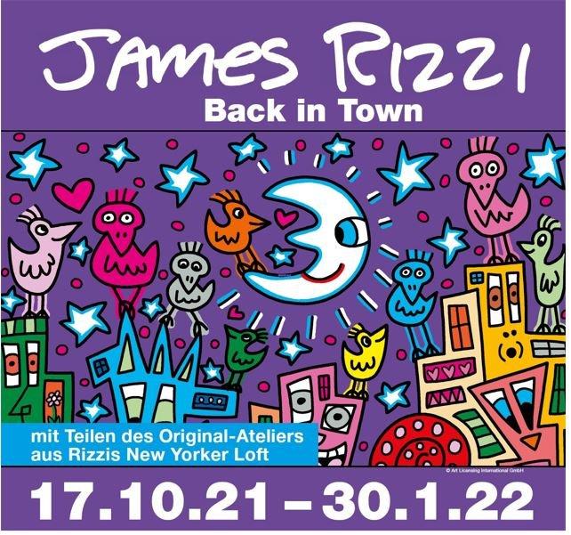 James Rizzi - Back in town! im Alten Löwen