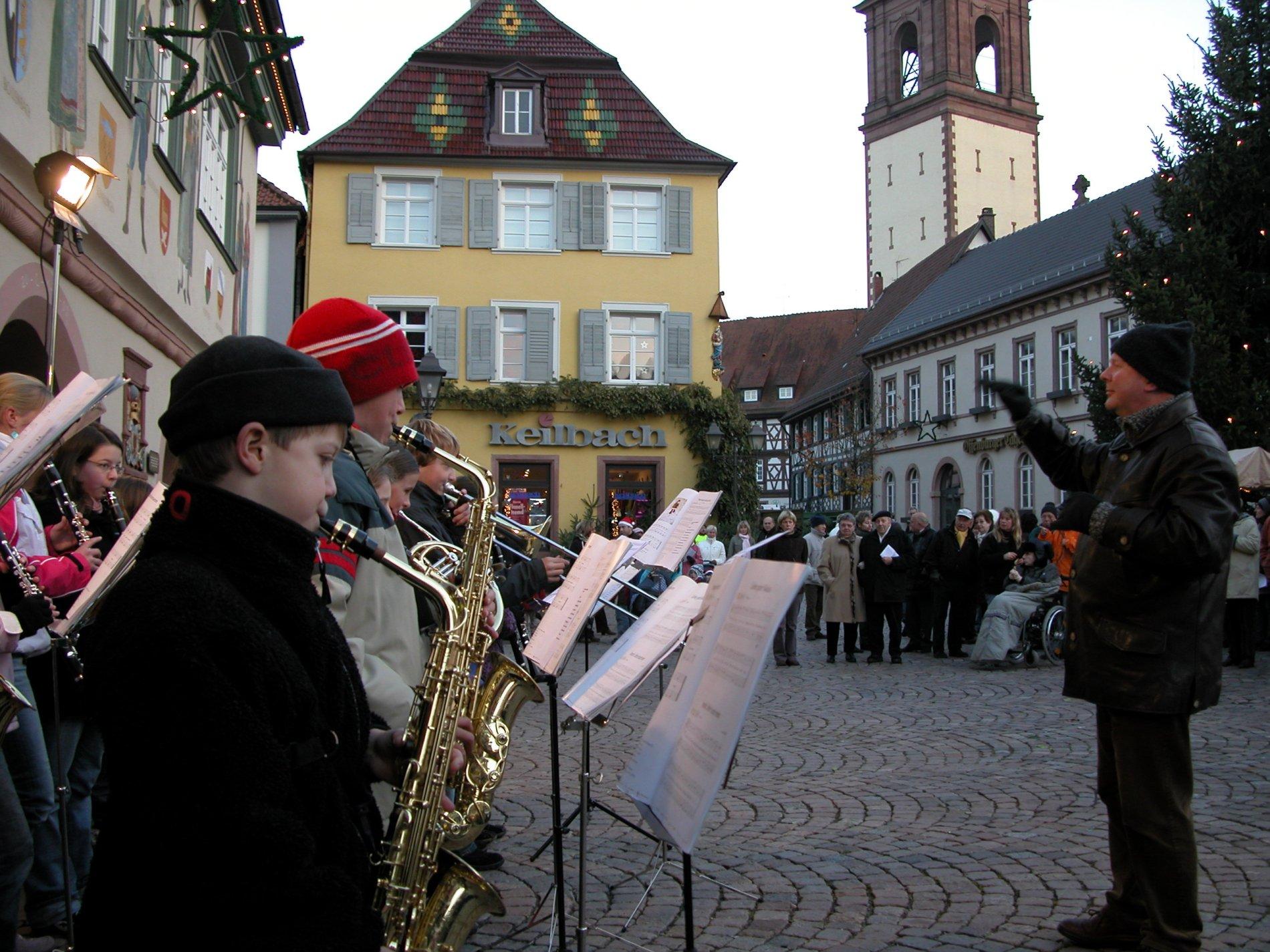 Adventsingen / Urheber: Stadt Haslach, Kultur und Marketing