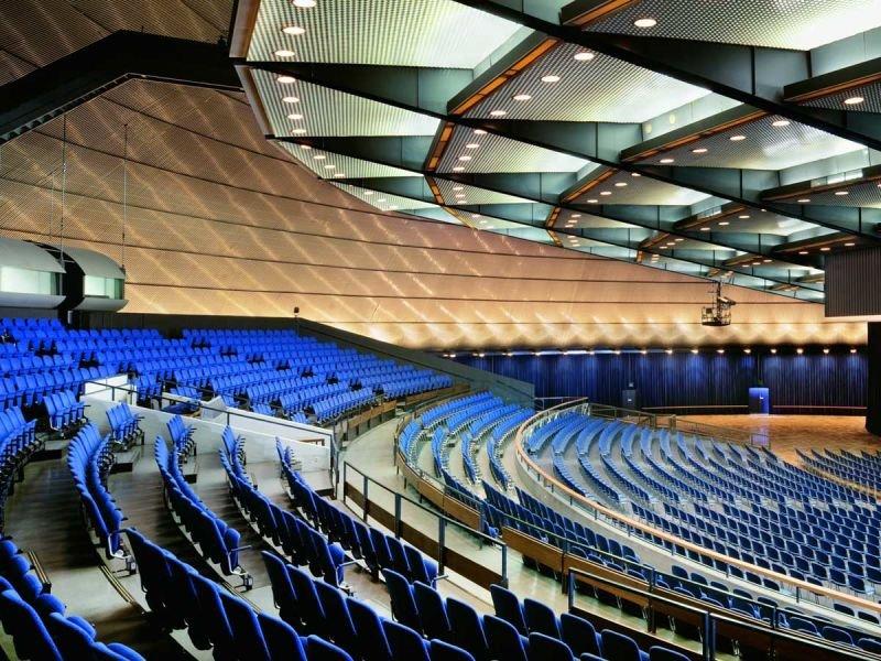 Jahrhunderhalle Frankfurt Höchst