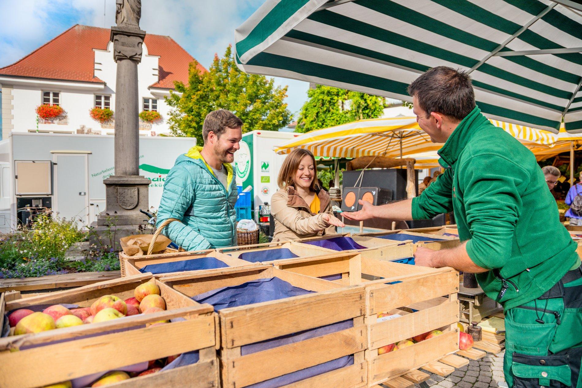 Wochenmarkt in Kißlegg