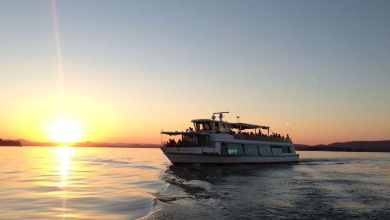 Höri-Fähre MS Seestern auf dem Untersee