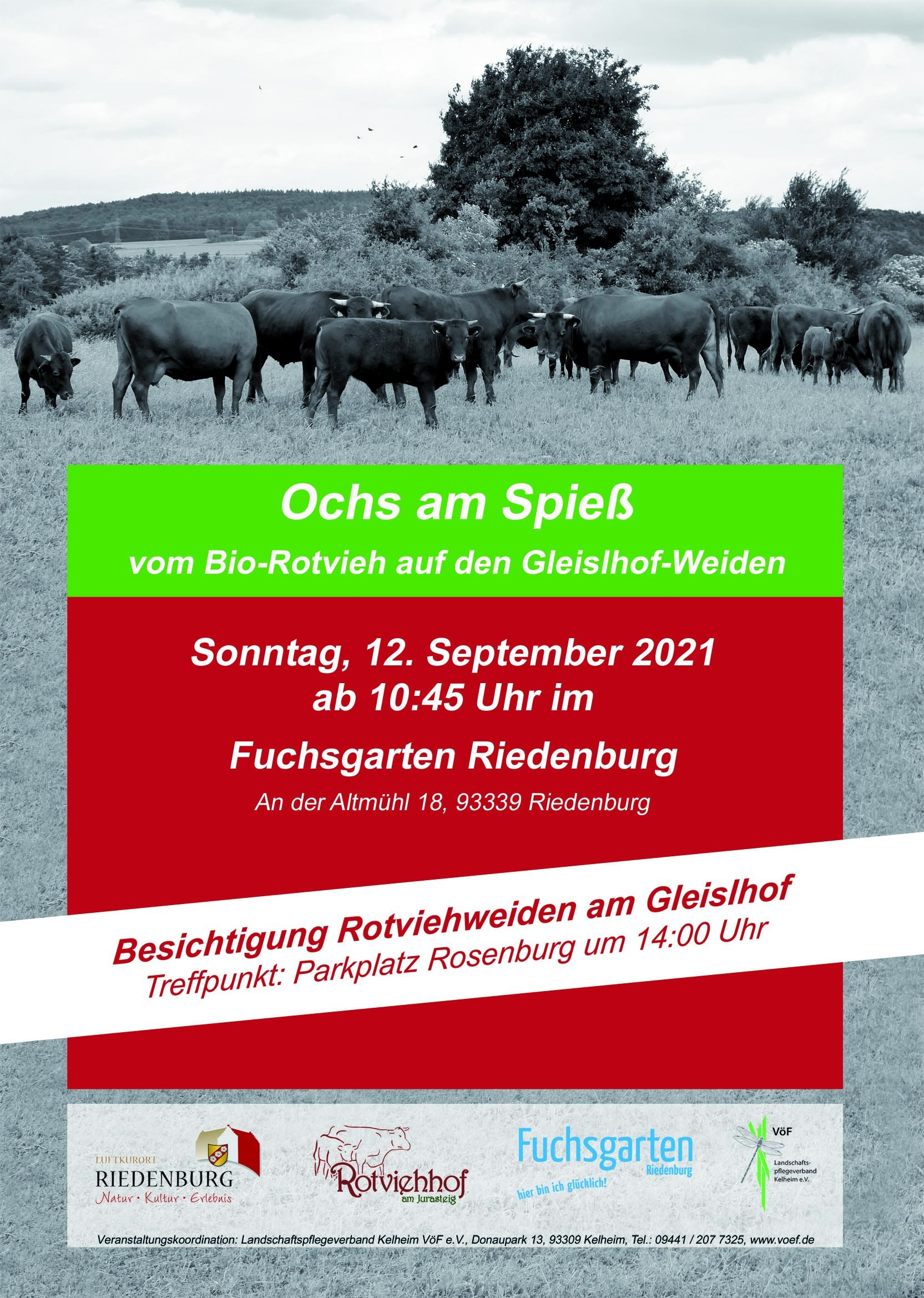 Plakat Ochs am Spieß 2021