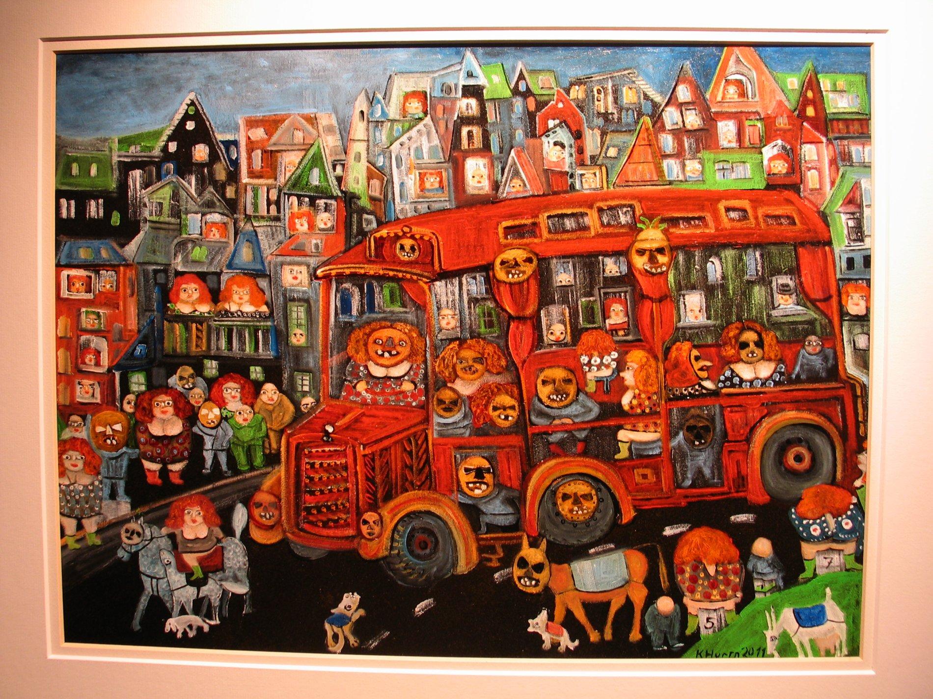 Der Bus mit Riabagoaschter