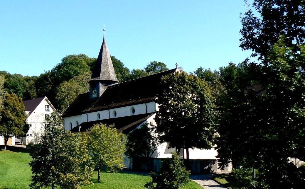 Kirche Schienen - Innen