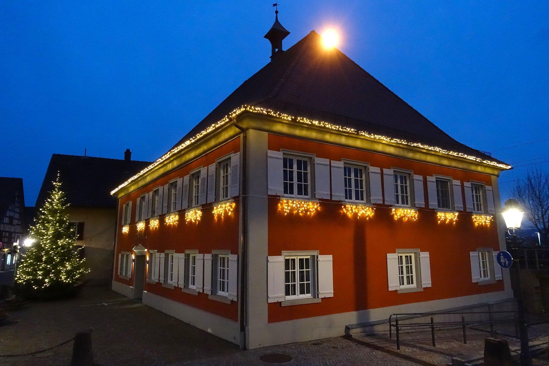 Weihnachtliches Allensbach