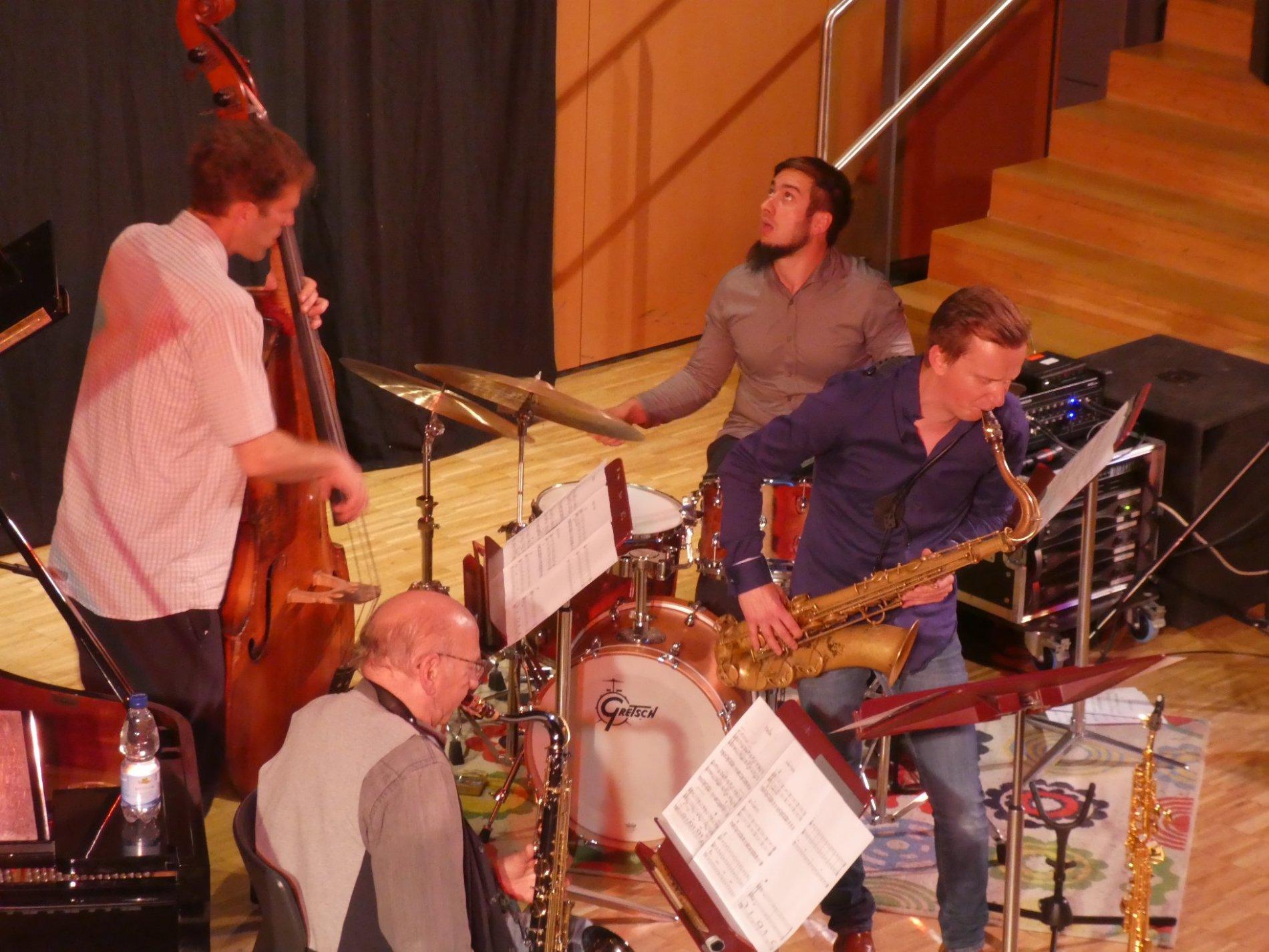 Quartett Nathan, Ott, Dave und Liebman
