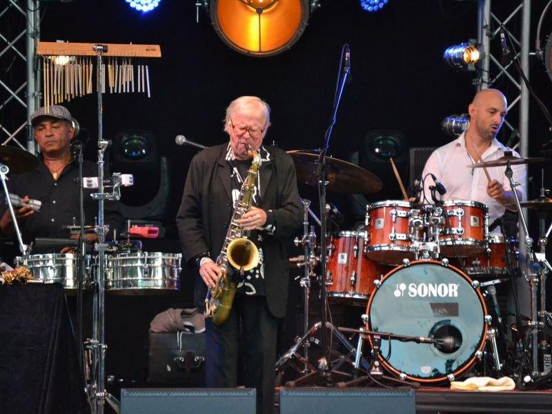 Ein bekanntes Gesicht in Bad Krozingen - Klaus Doldinger garantiert Jazz vom Feinsten