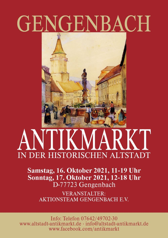 Antikmarkt in Gengenbach / Urheber: www.altstadt-antikmarkt.de