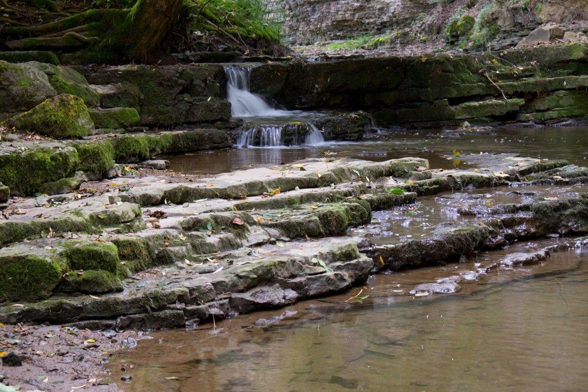 Wasserfall in der Schlichemklamm