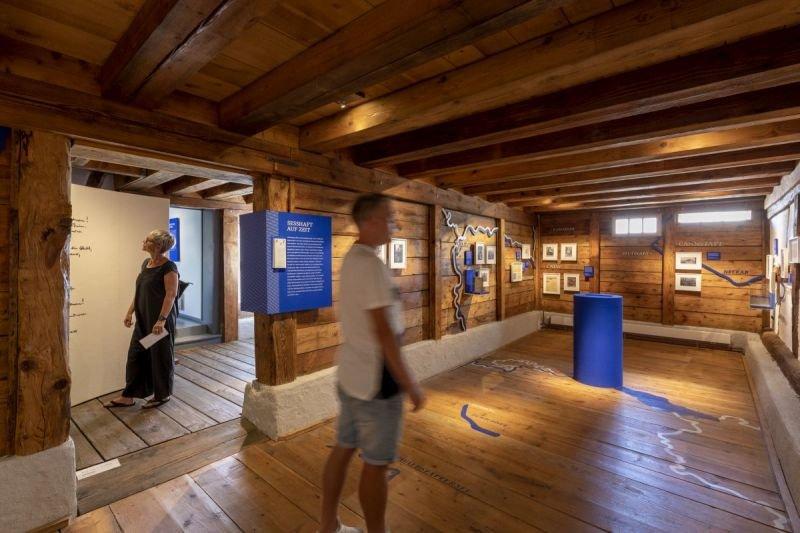 Dauerausstellung im Hesse Museum Gaienhofen
