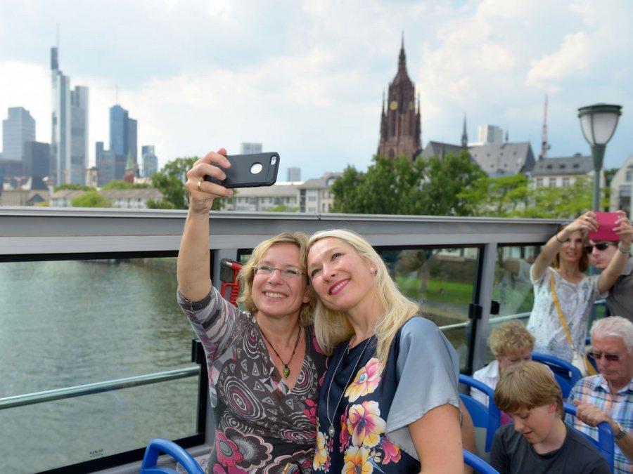 Stadtrundfahrt in Frankfurt
