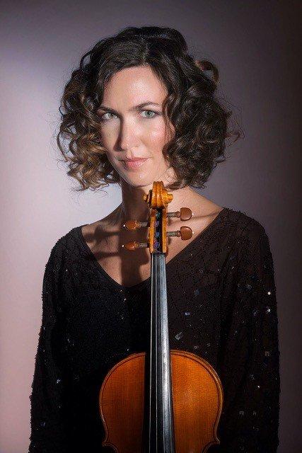 Eva Barsch an der Violine