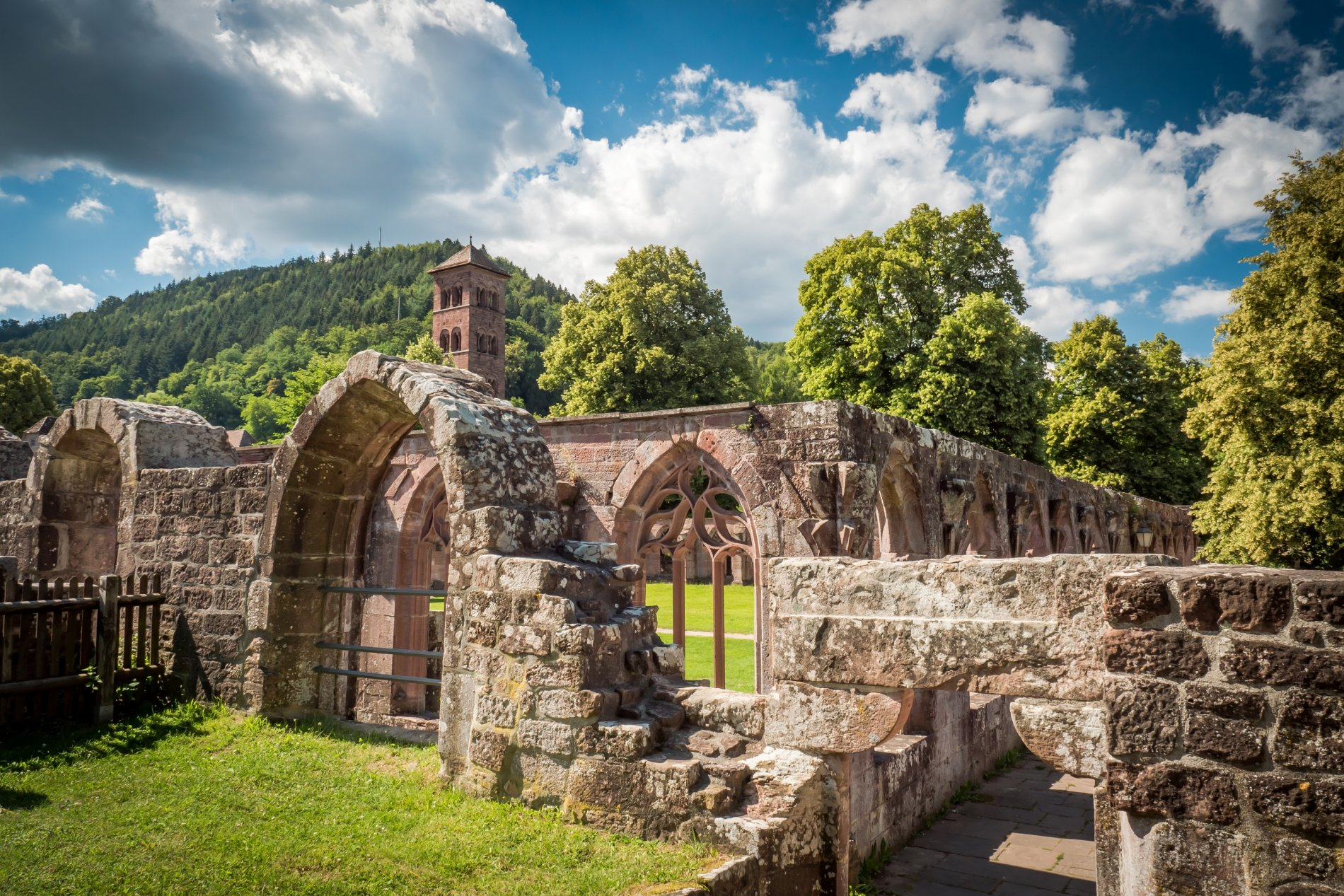 Ruinen Kloster Hirsau