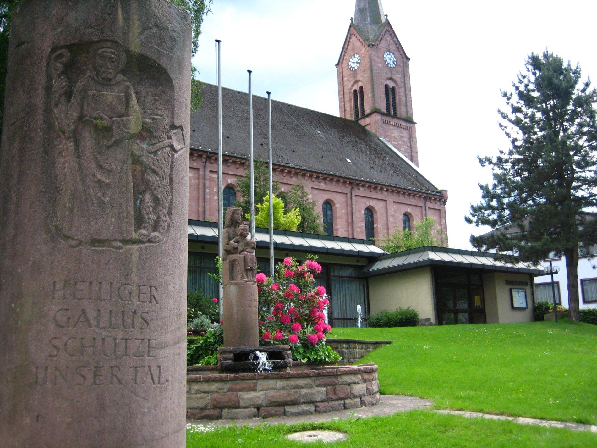 Pfarrkirche St. Gallus Oberharmersbach / Urheber: Gemeinde Oberharmersbach