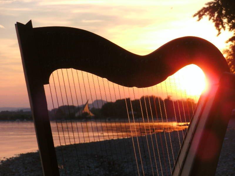 Harfe Konzert mit Johanna Dammert