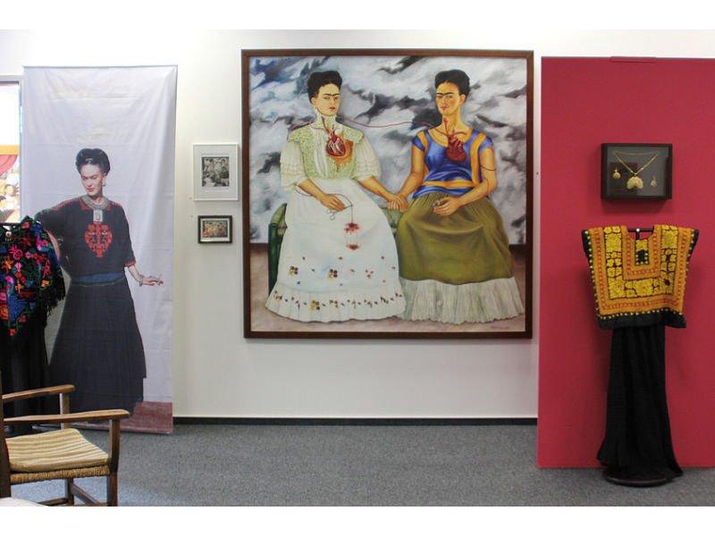 """Einblick in die Ausstellung """"Frida: meine Geheimnisse"""""""