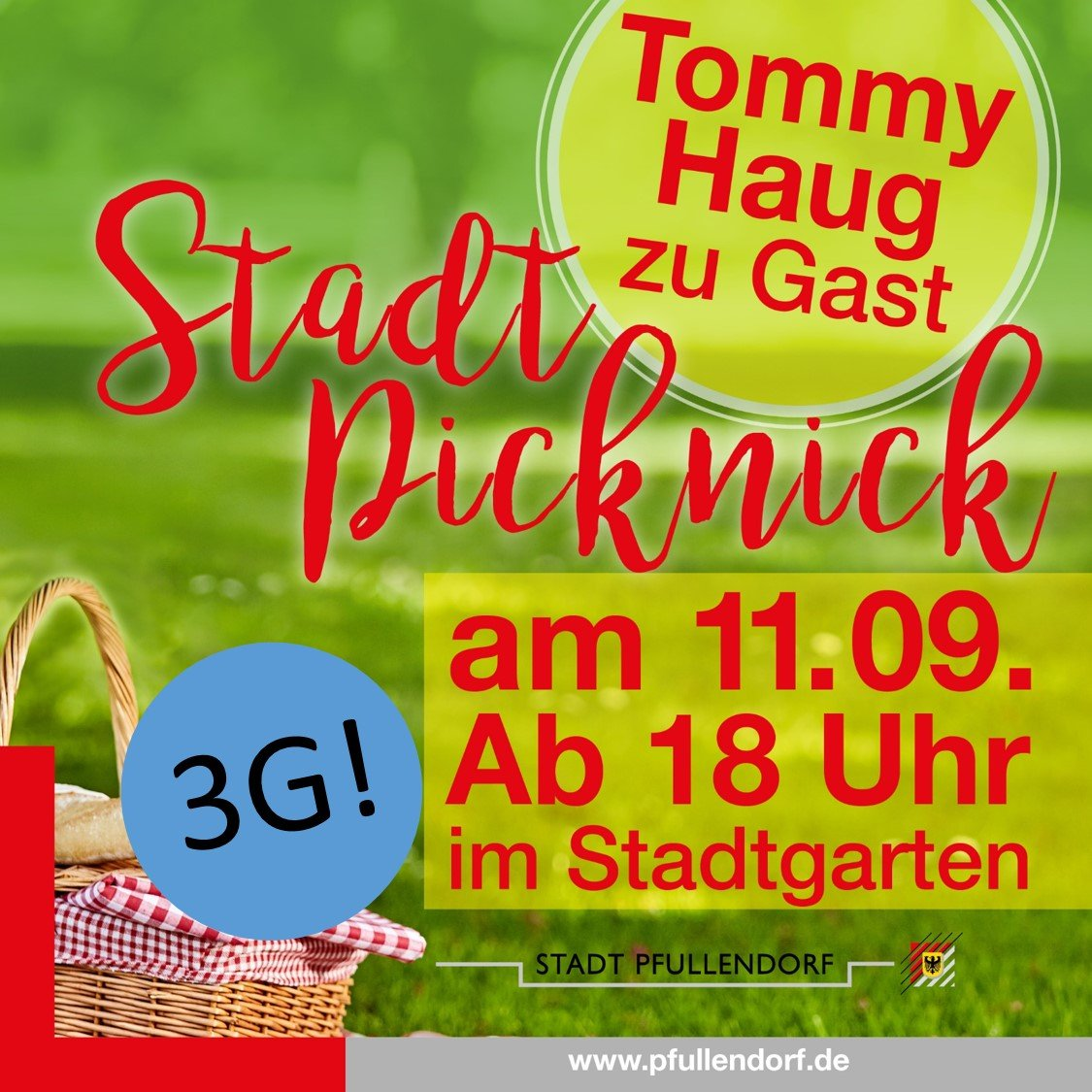 Pfullendorfer Stadtpicknick Plakat 2021