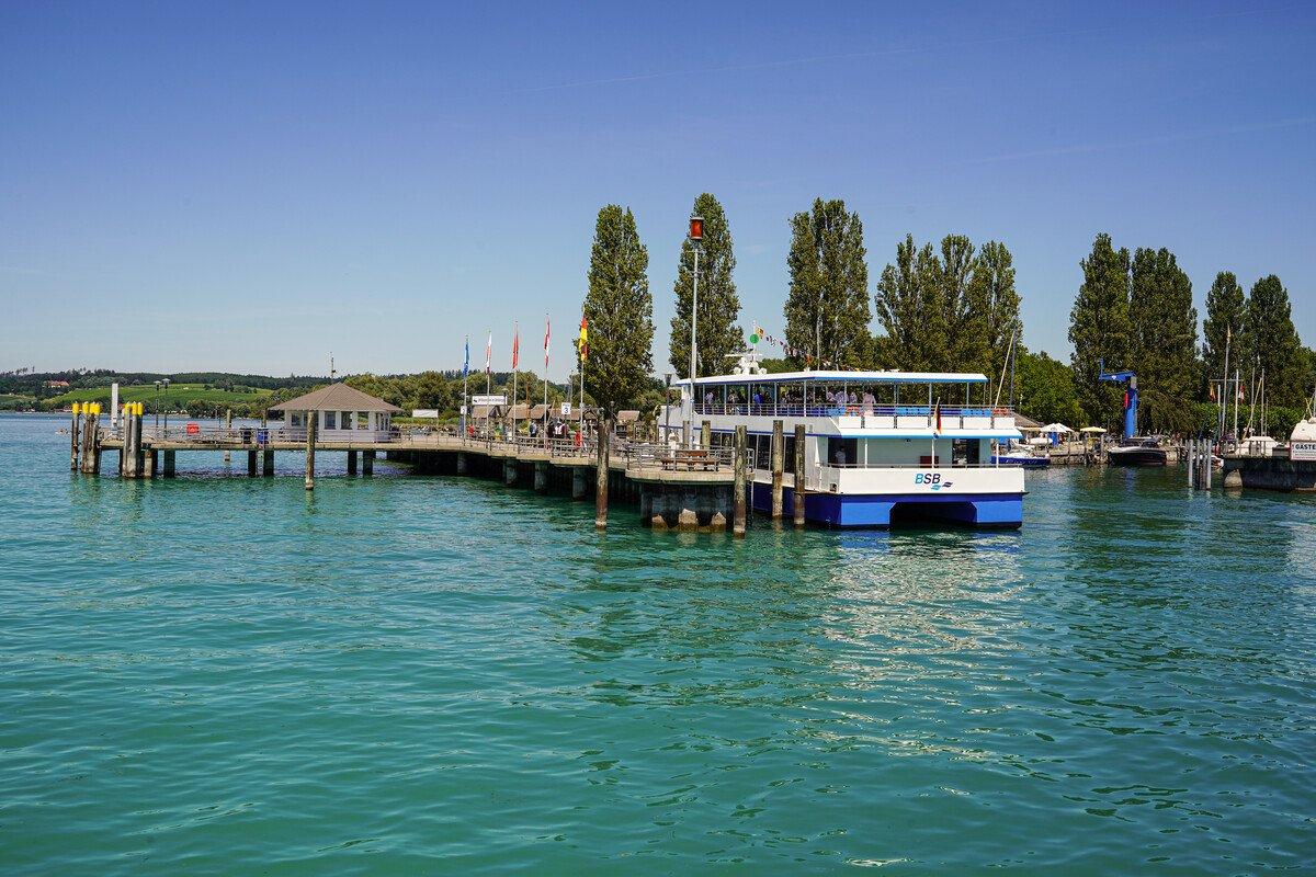 Gästebegrüßungsfahrt auf dem Bodensee