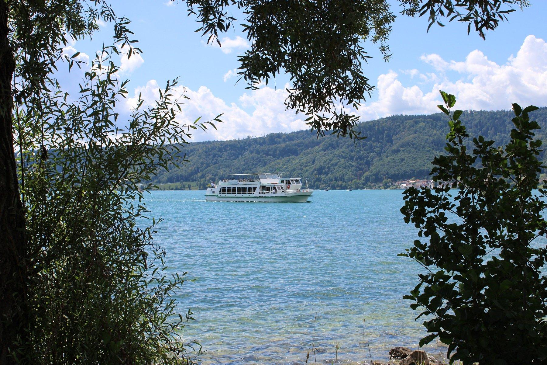 MS Großherzog Ludwig auf dem Überlinger See