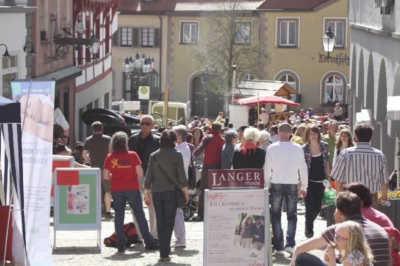 Blick auf die Pfullendorfer Altstadt, fotografiert von Achim Mende