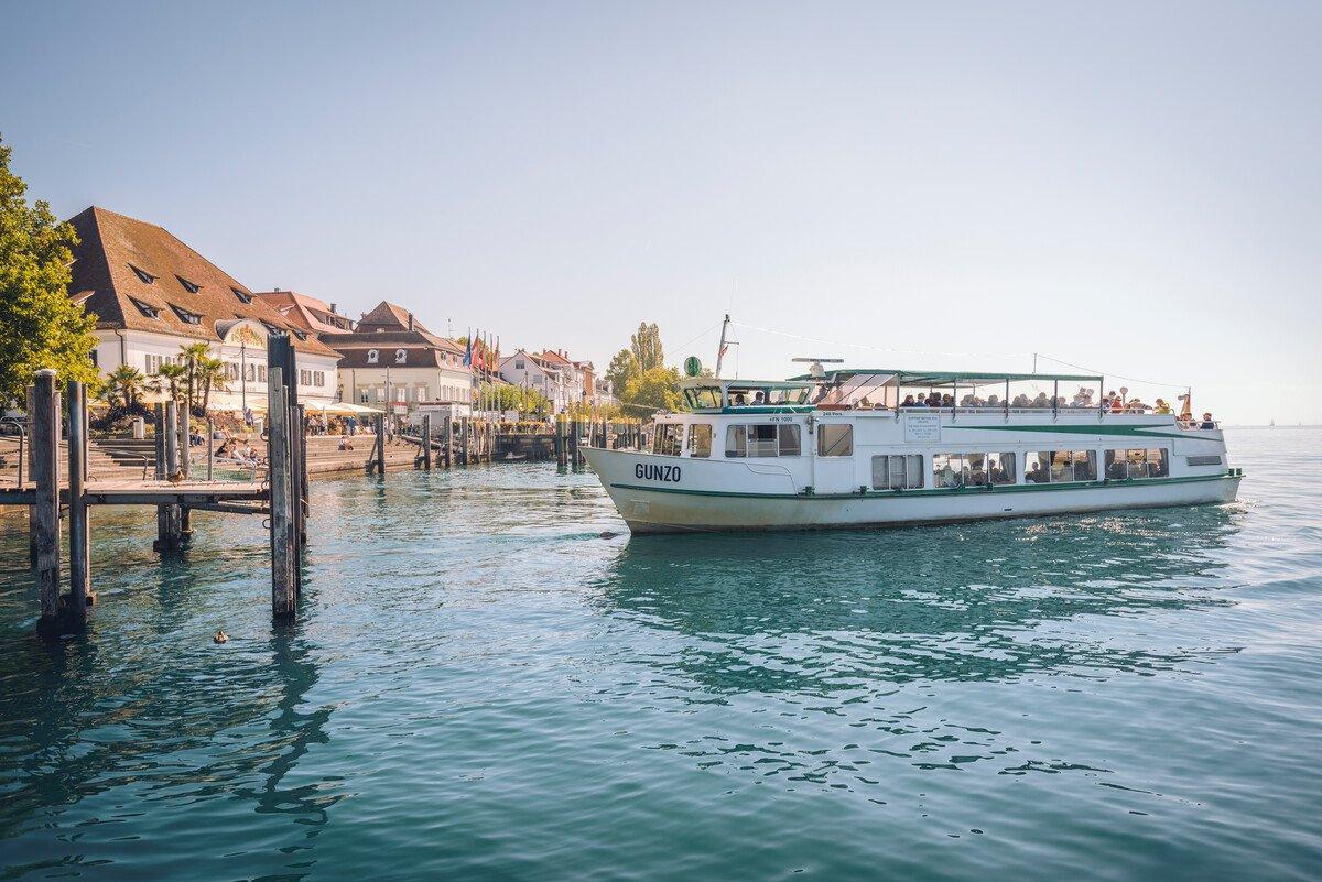 Gästebegrüßungsfahrt auf dem See