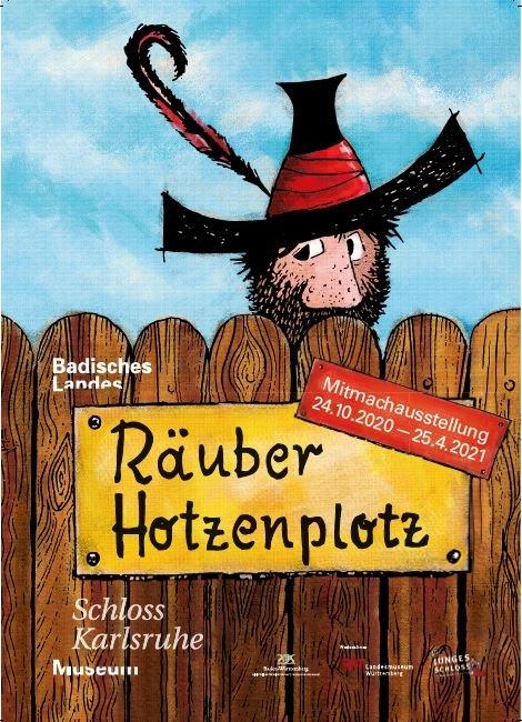 Plakat Räuber Hotzenplotz Ausstellung