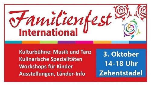 Familienfest International 2021 Moosburg