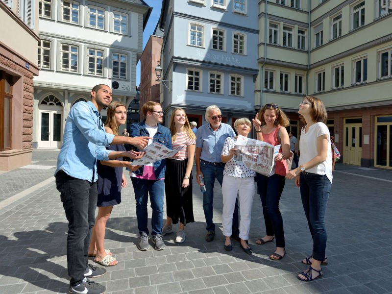Guided City Tour in Frankfurt's old town centre