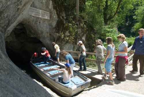 Einfahrt in die Wimsener Höhle
