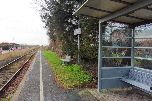 Bahnhof Harblek