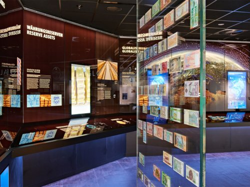 Money Museum inside view