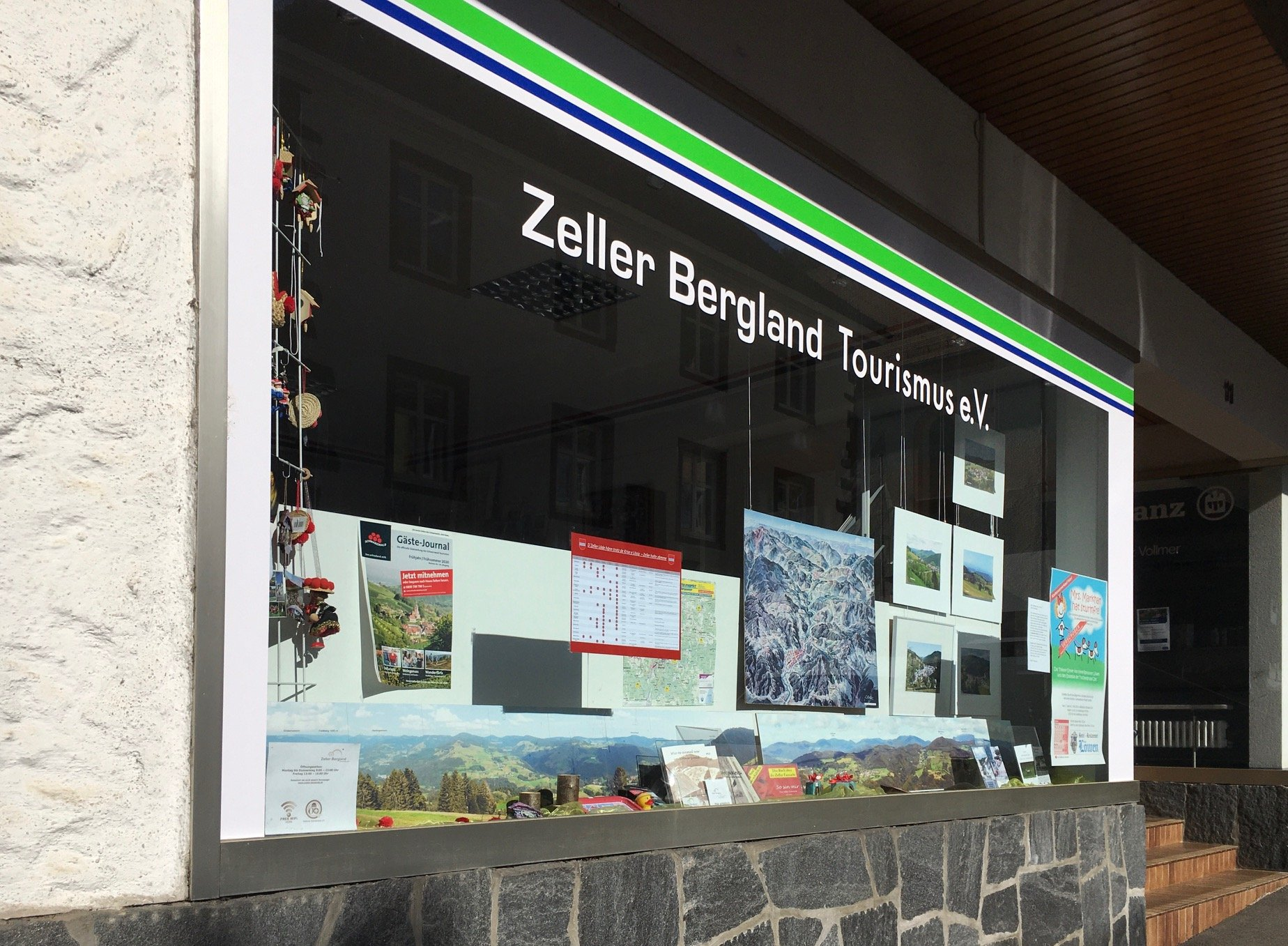 Touristinformation Zeller Bergland in Zell im Wiesental