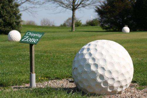 Detailaufnahme Golfanlage