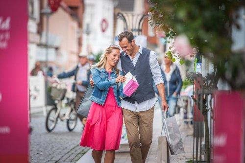 Shoppen in der Neustadt