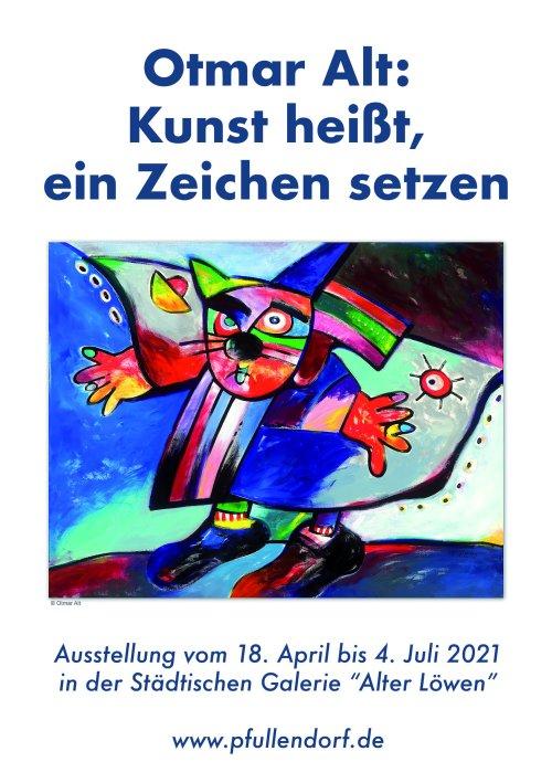 Otmar Alt Kunstausstellung im Alten Löwen