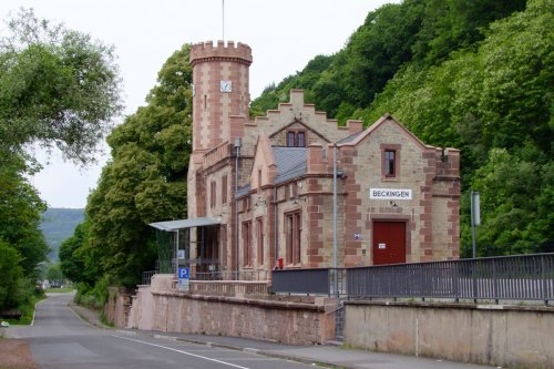 Alter Bahnhof Beckingen
