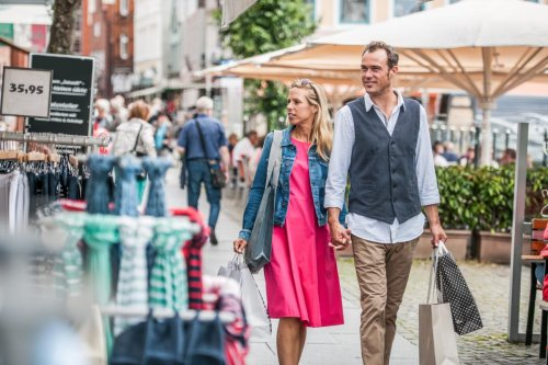 Shopping an der Schiffbrück