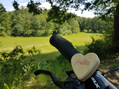 Herzverlieren mit Bahnradfluss
