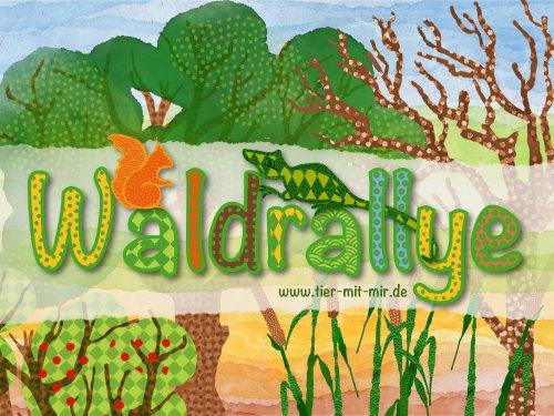 Waldrallye für Kinder