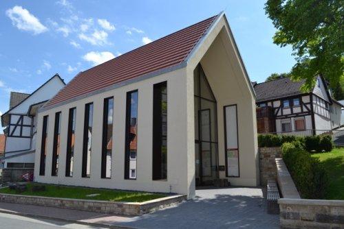 Museumsgebäude in Erinnerung an das Kloster Hasungen